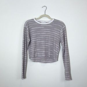 Topshop | Long Sleeve Crop Top | Small